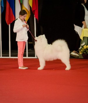 Charleen with junior handler Rita